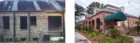 Front Before, After Baton Rouge
